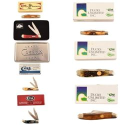 7 Assorted Case Commemorative Pocket Knives