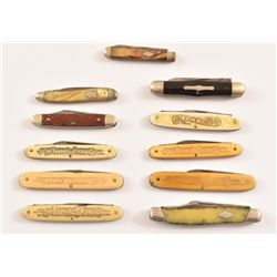 (11) Shapleigh/Simmons Hardware Pocket Knives