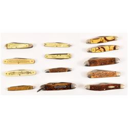 Collection of13 Camillus Pocket Knives
