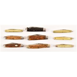 9 Pal Cutlery Pocket Knives