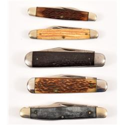 5 Queen City Pocket Knives