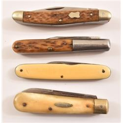 4 Solingen German Pocket Knives