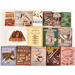16 Knife Collector Guide Books
