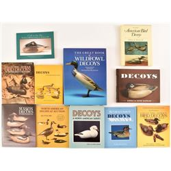 11 Decoy Collector Reference Books