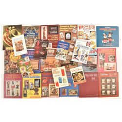 Collection of Antique Advertising Reference Books