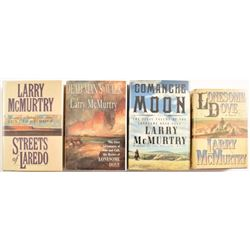 Larry McMurtry 4 Lonesome Dove Series Books