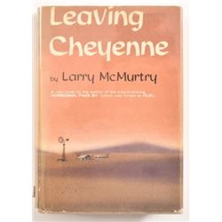 "Larry McMurtry ""Leaving Cheyenne"" 1st Edition"