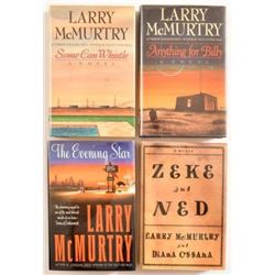 Collection of Signed Larry McMurtry Books