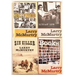 Larry McMurtry 3 First Edition Memoirs