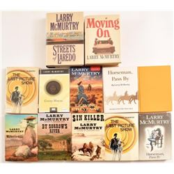 Collection of Larry McMurtry Books