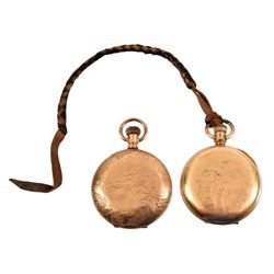 Belton Texas Postmaster Pocket Watches