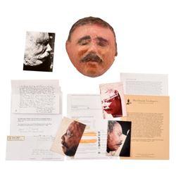 Pancho Villa's Death Mask by J. Rakocy