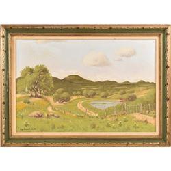 Hugo Herbeck Original Oil Painting