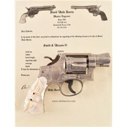 Engraved Smith & Wesson .38 Special