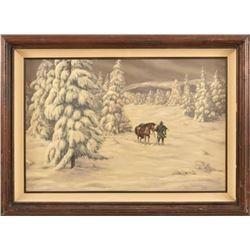 Joe Grandee Original Oil Painting