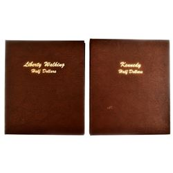 Liberty & Kennedy Half Dollar Collection Book