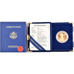 1989 American Eagle One Ounce Gold Coin