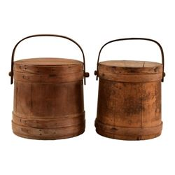 2 Antique Firkins