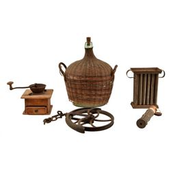 Collection of Early American Items