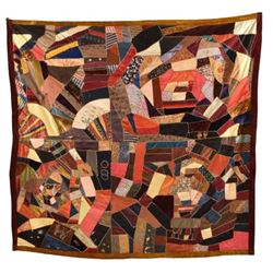 Early Hand Sewn Quilt