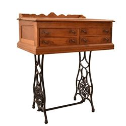 Slant Front Desk w/Sears & Roebuck Stand