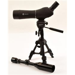 Simmons Rifle Scope & Simmons Spotting Scope