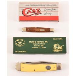 Case XX & Moore Maker Pocket Knives (2)