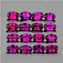 Natural Pink Purple Rhodolite Garnet 5x3 Mm - FL