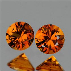 NATURAL GOLDEN ORANGE SAPPHIRE [FLAWLESS-VVS]