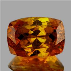 Natural Rare Bi -Color Yellow Orange Sphalerite 13x9 MM