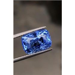 Natural Unheated Blue Sapphire 5.13 Ct - Certified