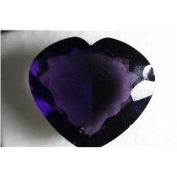 Purple Amethyst Heart 300 Carats