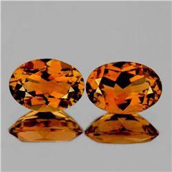 NATURAL ORANGE TOURMALINE [FLAWLESS-VVS]