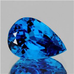 NATURAL AAA INTENSE SWISS BLUE TOPAZ 19x12 MM - FL