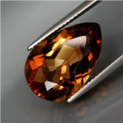 Natural Peach Champagne Topaz 11.23 Ct