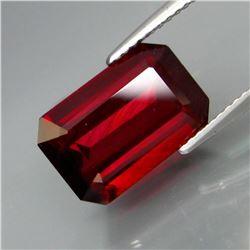 Natural Red Rhodolite Garnet 6.22 Cts
