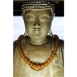 Vintage Natural Amber 39 Grams Necklace