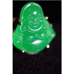Natural Premium quality Jade Buddha Ring