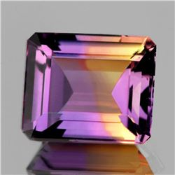 NATURAL ANAHI AMETRINE FROM BOLIVIA 14x12 MM - FL