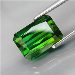 Natural Bluish Green Tourmaline 4.16 Ct