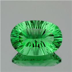 Natural Paraiba Green Fluorite 37.20 Ct - VVS