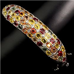 Natural Fancy Sapphire 167.84  Carats Bangle
