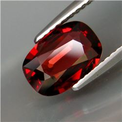 Natural Red Rhodolite Garnet 2.10 Ct