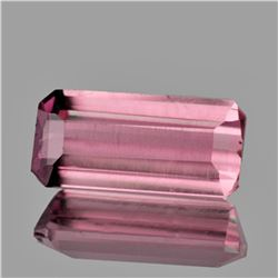 Natural Sweet Pink Tourmaline {Flawless-VVS1}