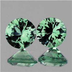 NATURAL PREMIUM BLUE GREEN SAPPHIRE PAIR