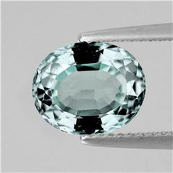 Natural Light Green AQUAMARINE 4.20 Ct  FL