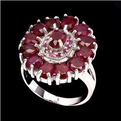 Natural Top Blood Red Ruby Ring