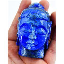 CERTIFIED 1210 CT BLUE LAPIS LUZULI BUDDAH