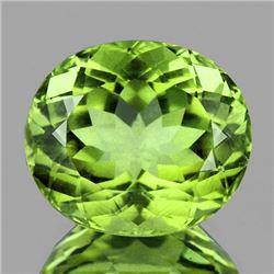 Natural  AAA Green Apatite 4.00 Ct (VVS)