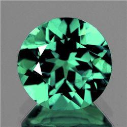 Natural  Green Apatite 7.00 MM - VVS